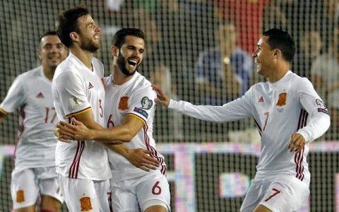 """Tập """"bắn"""" xa, Tây Ban Nha đánh bại Israel với cách biệt tối thiểu"""