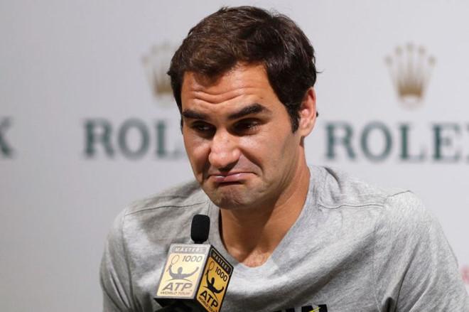 """""""Tàu tốc hành"""" Federer thừa nhận khó lật đổ Nadal"""