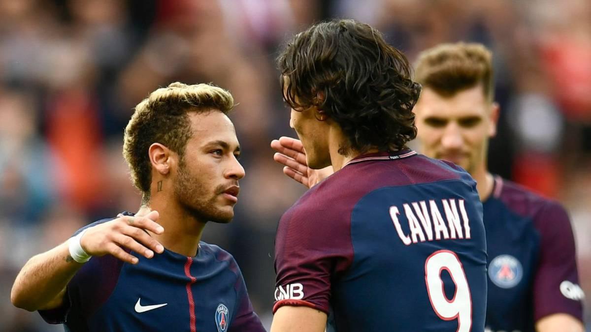 Cavani khẳng định đã làm lành với Neymar