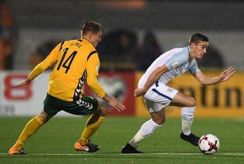 Chấm điểm Lithuania 0-1 Anh: Cơn gió mới – Harry Winks