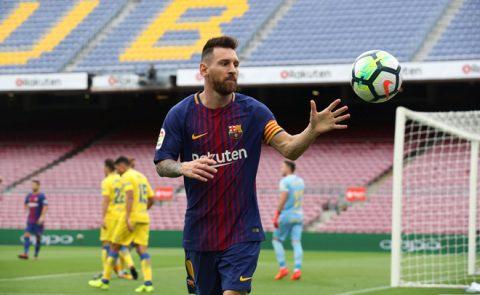 Đội hình tiêu biểu vòng 7 La Liga: Messi xuất sắc nhất