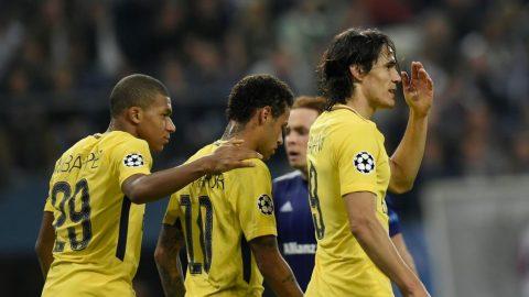 Tam tấu MCN thay nhay nổ súng, PSG đại thắng Anderlecht