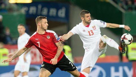 Bất ngờ gục ngã trước Áo, Serbia lỡ cơ hội đoạt vé sớm