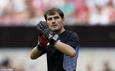 Số phận cay nghiệt của huyền thoại Iker Casillas