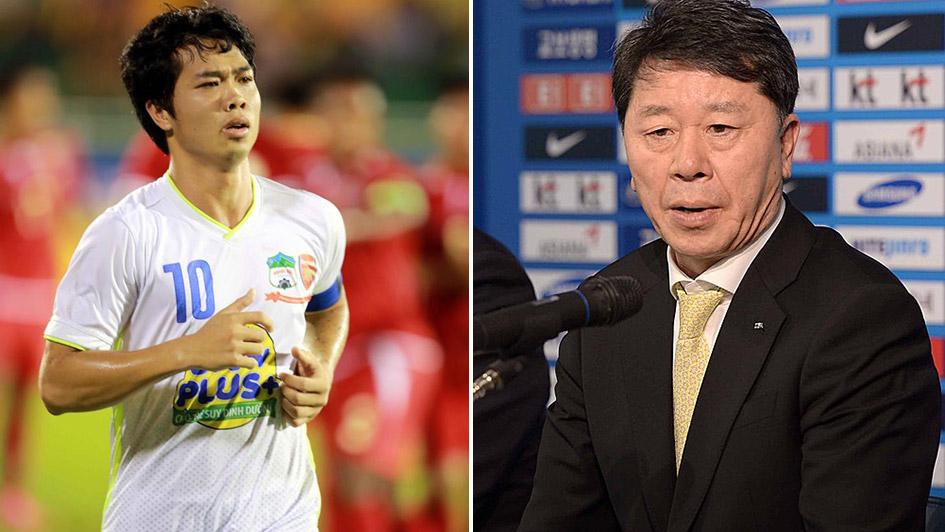 Tân GĐKT Chung Hae-seong đặt mục tiêu vô địch V.League 2019 cùng HAGL