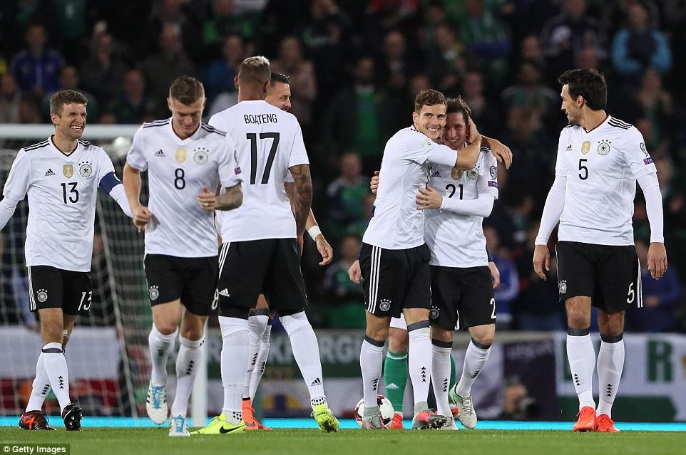 """Những """"làn gió mới"""" giúp tuyển Đức bảo vệ ngôi vương tại World Cup"""
