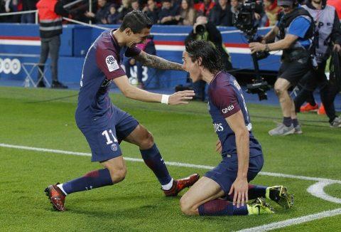 Không Neymar, Cavani vẫn tỏa sáng giúp PSG đại thắng Nice