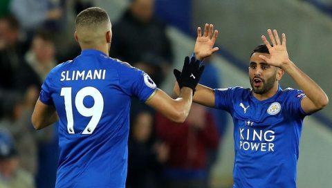 Mahrez nổ súng trở lại, Leicester thoát thua trước West Brom