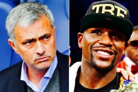 """Mourinho được so sánh với """"Độc cô cầu bại"""" Mayweather"""
