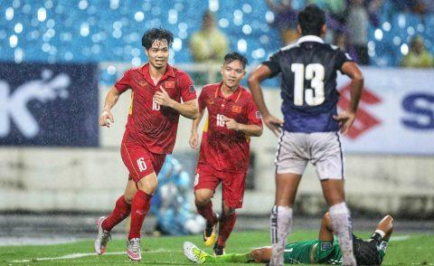 5 điểm nhấn trận Việt Nam 5-0 Campuchia: Tuyệt vời Công Phượng!