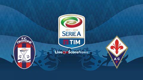 Nhận định Crotone vs Fiorentina, 21h00 ngày 29/10: Hoàn cảnh trái ngược