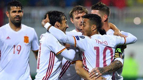 Lịch thi đấu vòng loại World Cup 2018 khu vực châu Âu (ngày 07/10)