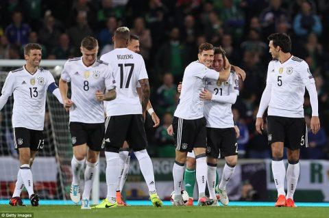 Hạ đẹp Bắc Ireland, ĐT Đức chính thức góp mặt tại World Cup 2018