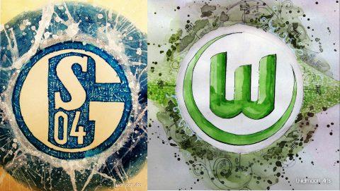 """Nhận định Schalke vs Wolfsburg, 20h30 ngày 28/10: """"Hoàng đế"""" đấu """"Vua hòa"""""""