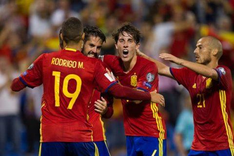 Thắng dễ Albania, Tây Ban Nha là đội tiếp theo giành vé đến Nga