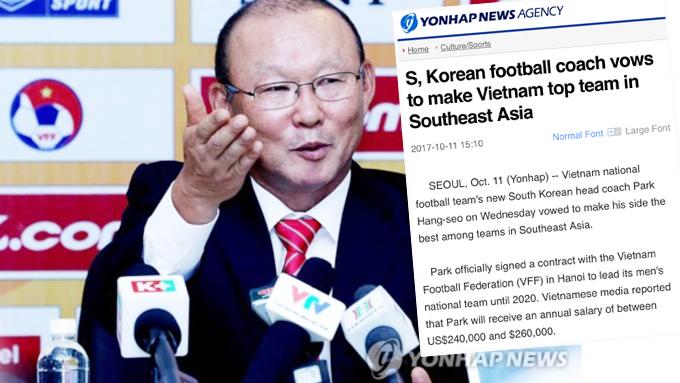 Báo Hàn Quốc đưa tin đậm về lễ ra mắt của ông Park