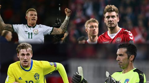 Bốc thăm vòng Play-off World Cup 2018: ĐT Italia, Croatia cùng gặp khó