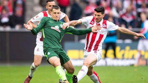 Vòng 9 Bundesliga: Cologne và Bremen vẫn chưa biết thắng