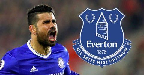 TIẾT LỘ: Everton đã giữ sẵn số áo cho Diego Costa