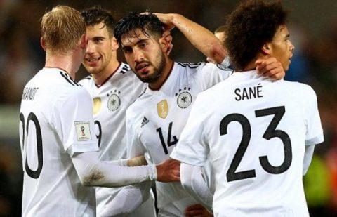 """Ra sân với đội hình 2, Đức vẫn dễ dàng nghiền nát """"nhược tiểu"""" Azerbaijan"""