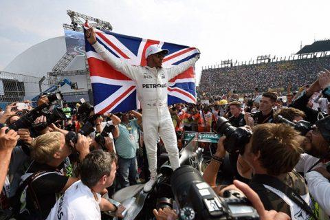 Lewis Hamilton lần thứ 4 đoạt chức vô địch F1 thế giới