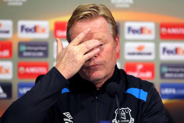 Everton CHÍNH THỨC sa thải HLV Ronald Koeman