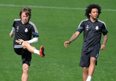 Marcelo 'bật' Modric trong ngày Real gục ngã trước Girona