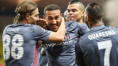 Monaco thua đau Besiktas, Leipzig thắng thuyết phục Porto trên sân nhà