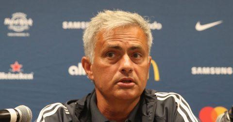 Mourinho đề ra mục tiêu trước màn tái đấu Benfica tại Old Trafford