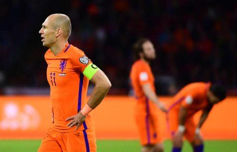 Đánh bại Thụy Điển, Hà Lan vẫn không thể đến Nga vào Hè năm sau