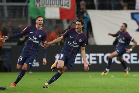 Cavani ghi bàn phút 90+2, PSG có được 1 điểm đầy kịch tính rời Vélodrome