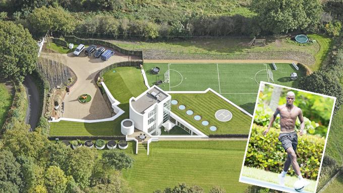 Dưỡng thương dài hạn, Pogba xây sân bóng mini để giải trí
