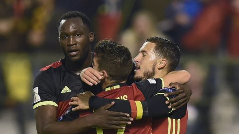 Anh em nhà Hazard giúp Bỉ đại thắng Cyprus, Hy Lạp đoạt suất đá play-off