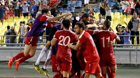 Thi đấu ngoan cường, Syria vẫn nuôi mộng World Cup