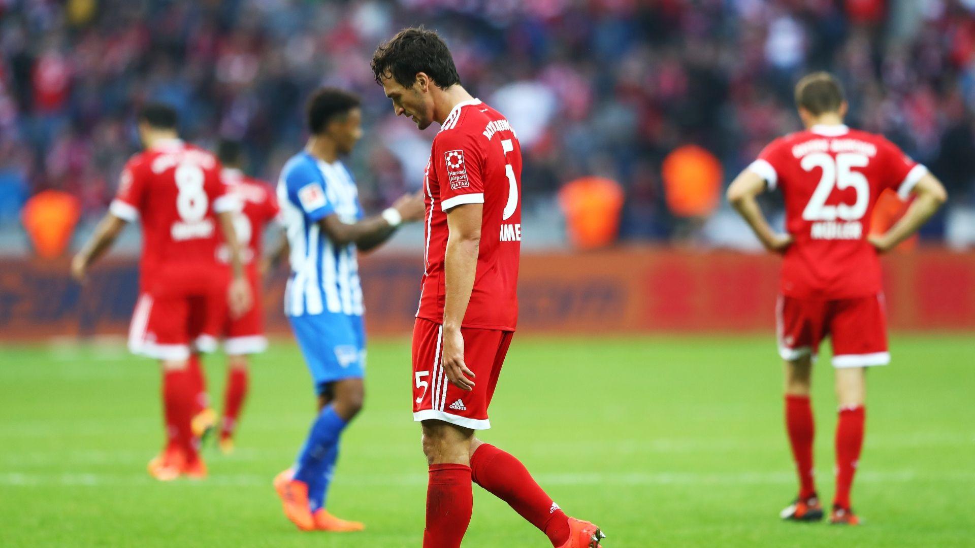 Dẫn trước 2 bàn, Bayern vẫn phải chia điểm với Hertha đầy cay đắng