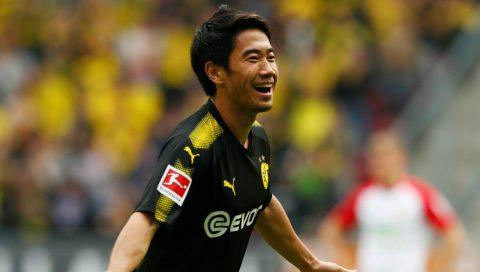 Kagawa lập siêu phẩm, Dortmund xây chắc ngôi đầu Bundesliga