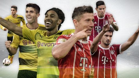 Trước vòng 11 Bundesliga: Siêu kinh điển nước Đức