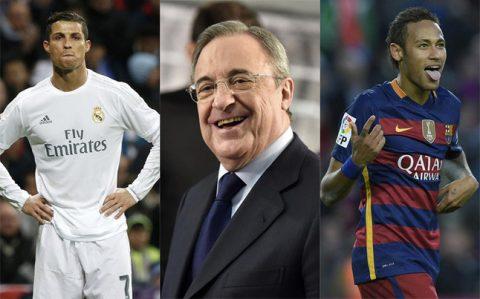 """Ronaldo sẽ sớm """"bật bãi"""" khỏi Real Madrid …vì Neymar"""