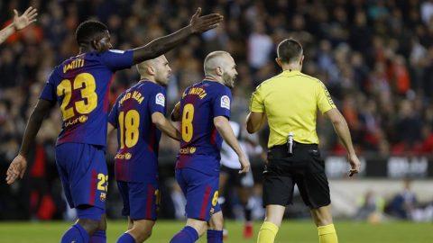 Sau vòng 13 La Liga: Trọng tài cứu Valencia, cứu luôn cả giải đấu