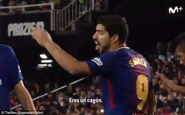 Chửi trọng tài, Luis Suarez sắp gặp rắc rối với BTC La Liga