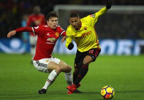 """5 điểm nhấn Watford 2-4 Man United: """"Người băng"""" Lindelof đang trở lại"""