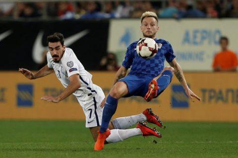 Cầm chân chủ nhà Hy Lạp, Croatia có vé dự World Cup 2018