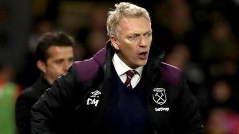 West Ham nhận thất bại muối mặt trong ngày ra mắt của Moyes