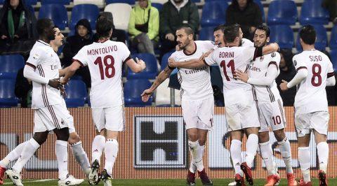 """""""Tiểu Nesta"""" ghi bàn, Milan có chiến thắng quý giá trước Sassuolo"""