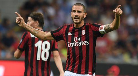 """Real có thể giải cứu Bonucci khỏi """"vũng bùn"""" Milan?"""