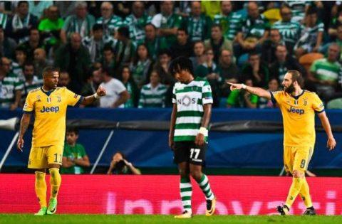 Để mất tuyến giữa, Juventus suýt ôm hận trước Sporting