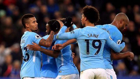 Hạ đẹp Leicester, Man City tiếp tục làm nản lòng nhóm bám đuổi