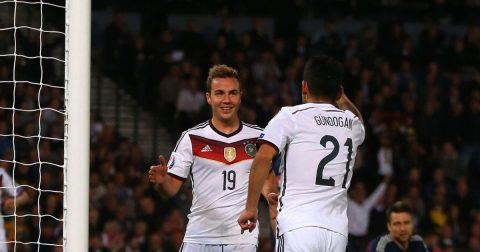 Gotze và Gundogan trở lại tuyển Đức sau gần 1 năm vắng mặt