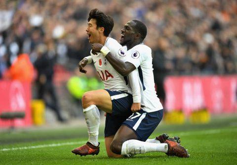 Sao Hàn Quốc ghi bàn đẳng cấp, Tottenham tạm bắt kịp MU