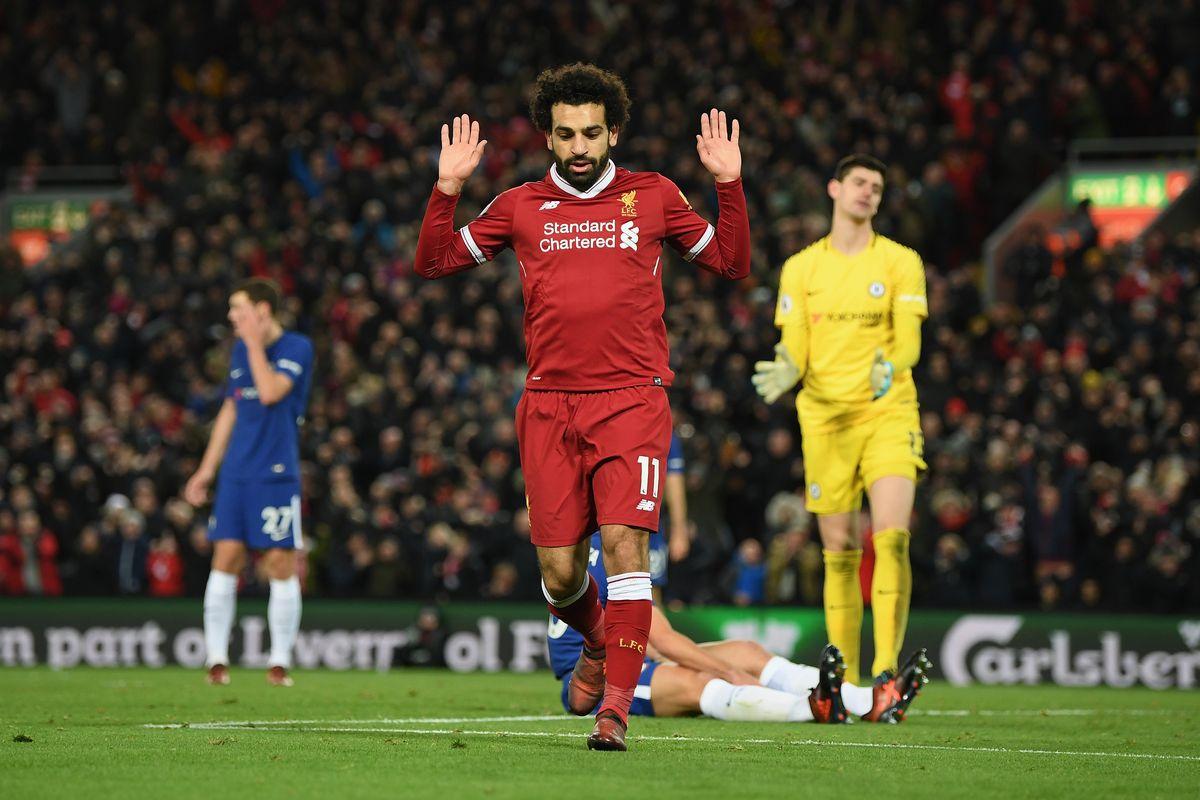 Salah lập công, Liverpool vẫn phải chia điểm với Chelsea